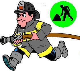 los oficios en ingles fireman