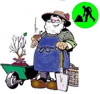 los oficios en ingles gardener