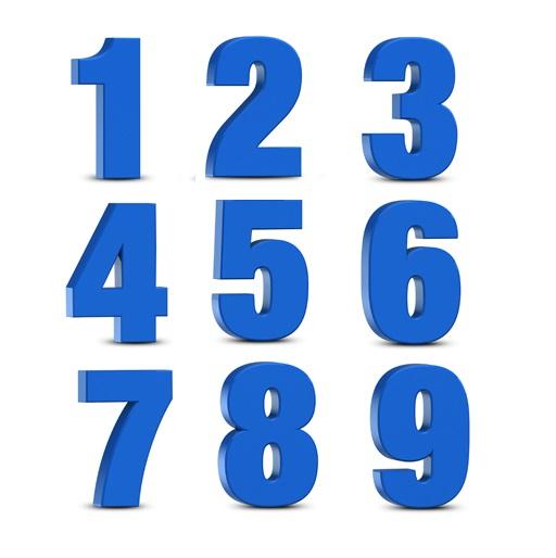 числа 1
